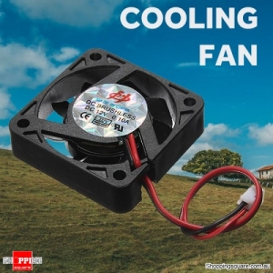 2-Pins 12V 40x40x10mm Heat Sink Cooler CPU Cooling Fan for PC Computer Windows