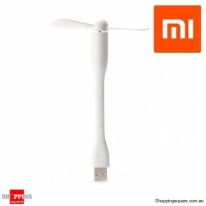 Xiaomi Portable Flexible USB Mini Fan For Power Bank Laptop White Colour