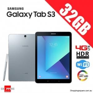 Samsung Galaxy Tab S3 32GB 4G LTE 9.7 inch T825 Wi-Fi HDR Silver