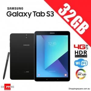 Samsung Galaxy Tab S3 32GB 4G LTE 9.7 inch T825 Wi-Fi HDR Black