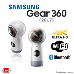 Samsung Gear 360 (2017) R210 4K WiFi Bluetooth Digital Camera White