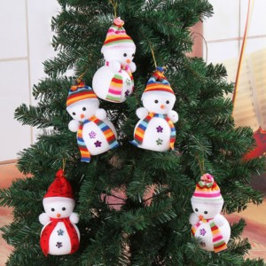 Cool Snowman Decoration Ornaments for Christmas Tree Office Home Shop