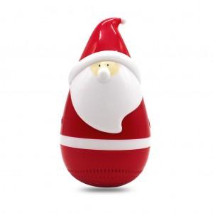 Santa Claus Roly Poly Tumbler Bluetooth Speaker for Christmas Joke Prank