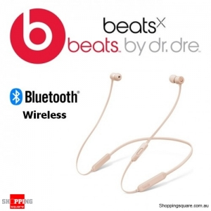 BeatsX Wireless Bluetooth Earphone Matte Gold