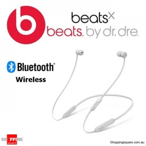 BeatsX Wireless Bluetooth Earphone Matte Silver