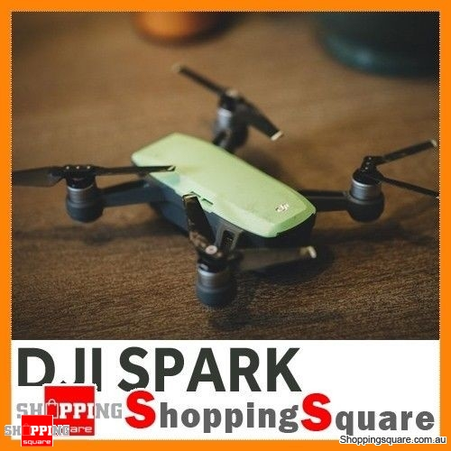 DJI Spark Drone Quadcopter 2KM FPV with 12MP 2-Axis Mechanical Gimbal Camera Gesture Mode (Spark Only) Meadow Green Colour