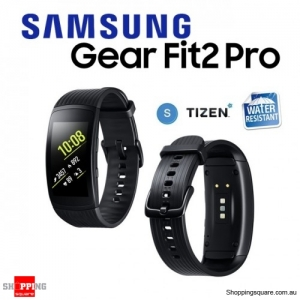Samsung Galaxy Gear Fit 2 Pro R365 Smart Watch Sports Fitness Small Black