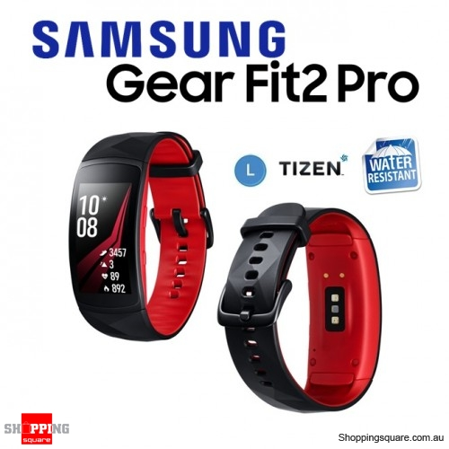 Samsung Galaxy Gear Fit 2 Pro R365 Smart Watch Sports Fitness Large Red