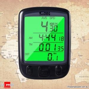 Waterproof Bicycle Speedometer with LCD Backlit