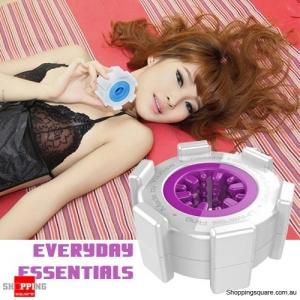 Men's Universal Penis Ring Stretchy Masturbators Sex Adult Toy Erotic Purple Colour