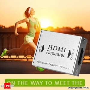HDMI V2.0 Repeater Supports 4K x 2K @ 60Hz