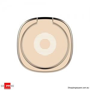 Baseus Privity Ring Bracket Universal 180 Degree Car Mount Phone Holder Stand Gold Colour