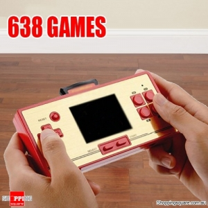 RS-20A Portable 3 Inch Screen Game Console with 638 Classic Games