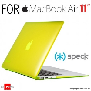 Speck 11 inch SeeThru Hardshell scratch protection case for Macbook Air - Yellow