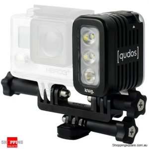 Qudos Knog Waterproof Video Action Light for GoPro HERO - Black Colour
