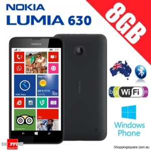 Nokia Lumia 630 Smart Phone 4G - Vodafone Locked (Sim Card NOT included) Black Colour
