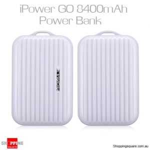 Momax iPowerGo Mini 8400mAh Power Bank - White Colour