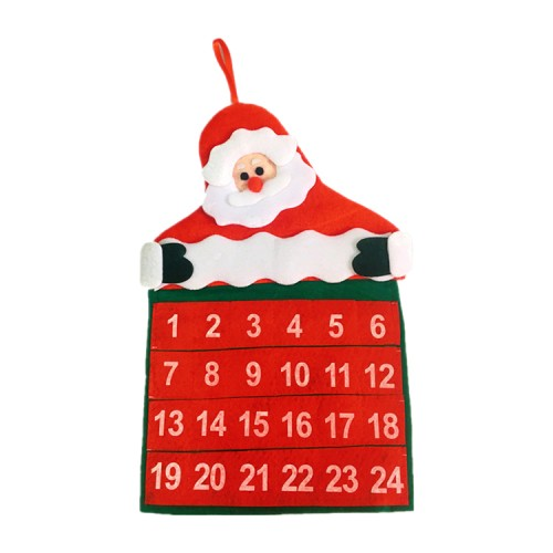 Christmas Santa Claus Advent Calendar Decorations
