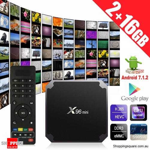 X96 MINI Amlogic S905W 2GB RAM 16GB ROM 4K TV Box