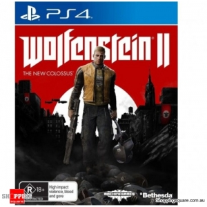 Wolfenstein II 2: The New Colossus - PS4 Playstation 4