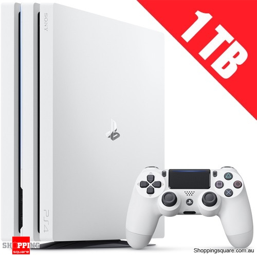 PlayStation 4 PS4 Pro 1TB Console - White