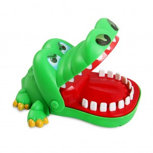 Classic Biting Mouth Crocodile Dentist Game Toy for Family Boy Girl Kid Party