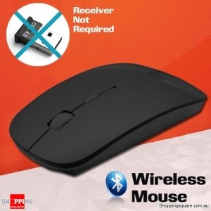 Bluetooth Wireless Mouse for Mac PC Black Colour
