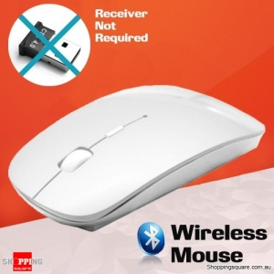Bluetooth Wireless Mouse for Mac PC White Colour