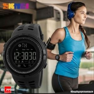 SKMEI 1250 Bluetooth Waterproof Sports Smart Watch Black colour