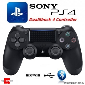 SONY Genuine Playstation 4 DualShock 4 Controller (PS4) - Black (OEM) - No Original packaging