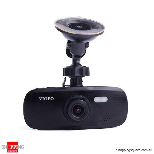 "VIOFO G1W-S 2.7"" Screen 1080P Car DVR Dash Cam With GPS Function"