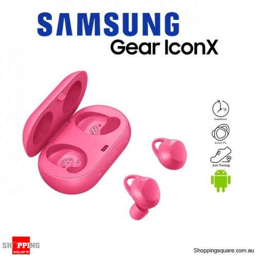 Samsung Gear Icon X 2018 SM-R140 Sport Fitness Bluetooth Wireless Earbuds Pink