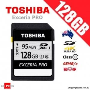 Toshiba Exceria Pro 128GB N401 SDXC Memory Card UHS-I U3 95MB/s 4K Ultra HD
