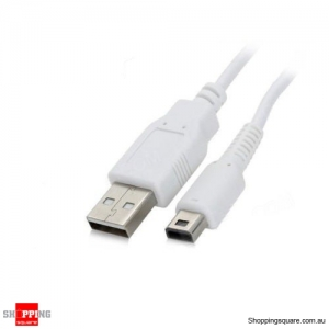 3M USB Charging Cable for Nintendo WII U Gamepad Controller