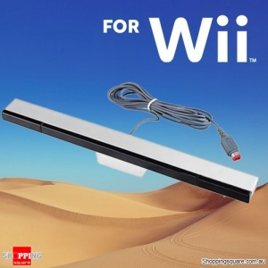 Wired Infrared Ray IR Inductor Remote Motion Sensor Bar for Gaming Nintendo Wii Dance Sport