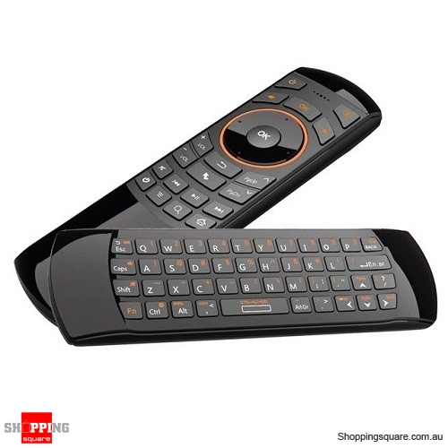 Rii k25 Wireless Keyboard Air Mouse with IR Remote multifunction combo for Android TVBOX