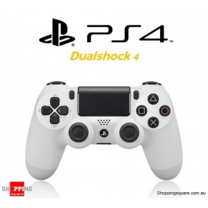 SONY Genuine Playstation 4 DualShock 4 Controller (PS4) - White (OEM) - No Original packaging