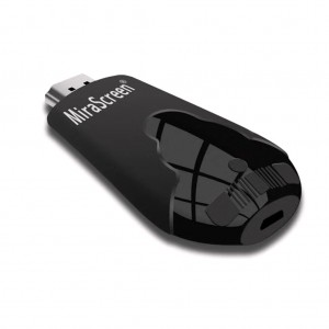 MiraScreen K4 Wireless Display Adapter DLNA Airplay Miracast Dongle 1080P Black Colour