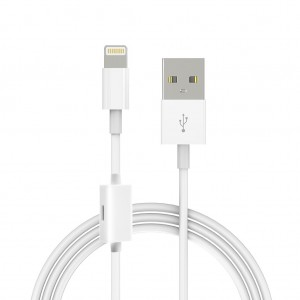 Lightning to USB Sync Charger Cable with Extra Lightning Port Support iOS 11