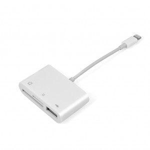 3-in-1 Connection Kit Lightning to USB/SD/Micro SD Card Reader