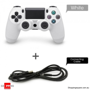 Wired Controller GamePad for PS4 White Colour
