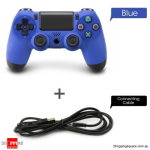 Wired Controller GamePad for PS4 Blue Colour