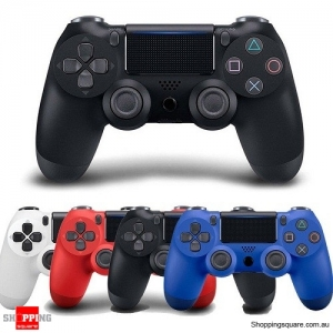 Generic Bluetooth Wireless Controller GamePad for PS4 Black Colour