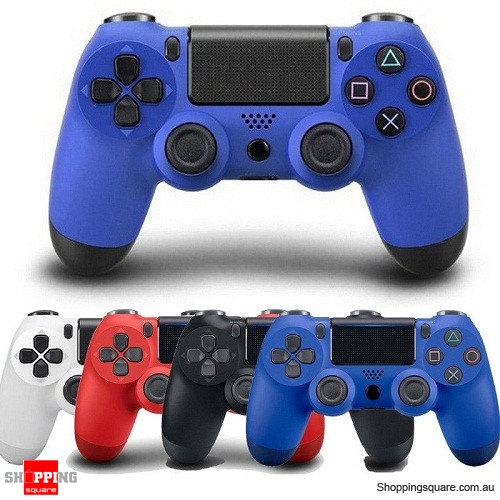 Generic Bluetooth Wireless Controller GamePad for PS4 Blue Colour