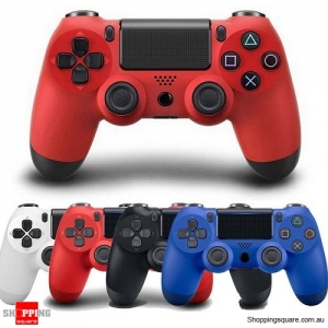 Generic Bluetooth Wireless Controller GamePad for PS4 Red Colour