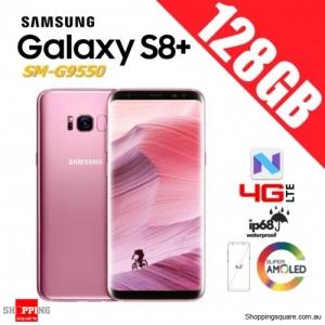 Samsung Galaxy S8+ 128GB G9550 Dual Sim 4G LTE Unlocked Smart Phone Blossom Pink