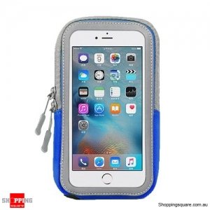 Outdoor Sports Running Armband For iPhone 8 Plus 7 Plus 6 Plus 8 7 6 Blue Colour