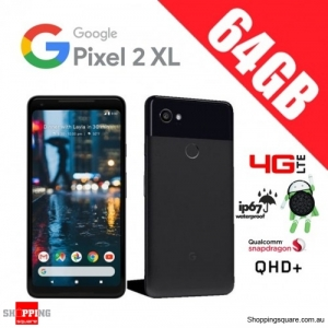 Google Pixel 2 XL 64GB G011C 4G LTE Unlocked Smart Phone Just Black