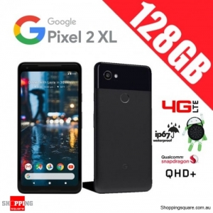 Google Pixel 2 XL 128GB G011C 4G LTE Unlocked Smart Phone Just Black