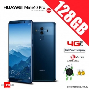 Huawei Mate 10 Pro 128GB BLA-L29 Dual Sim 4G LTE Unlocked Smart Phone Midnight Blue